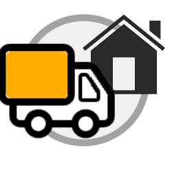 dumpster delivery icon